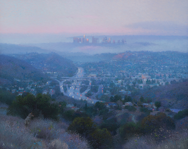 , 'South from Glendale (Dawn),' 2017, Craig Krull Gallery