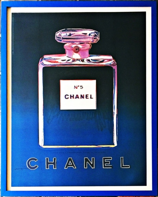 Andy Warhol, 'Chanel No. 5 (Blue)', 1997, Alpha 137: Prints & Exhibition Ephemera VI