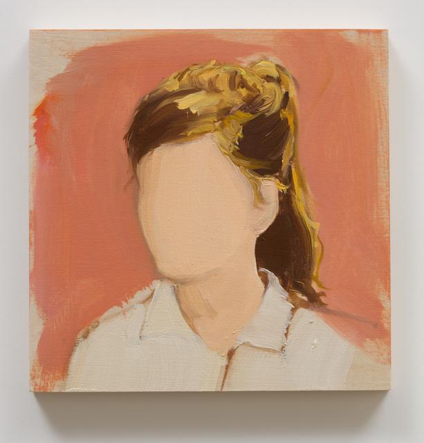 , 'Untitled (Girl With Ponytail),' 2018, Anat Ebgi