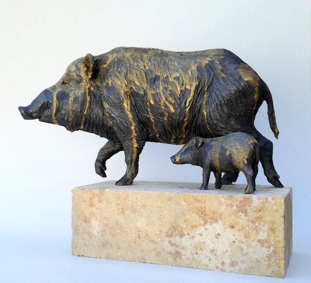 , 'Jabalíes,' 2018, N2 Galería