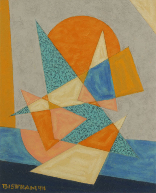 , 'Triangle and Sun,' 1944, Addison Rowe Gallery