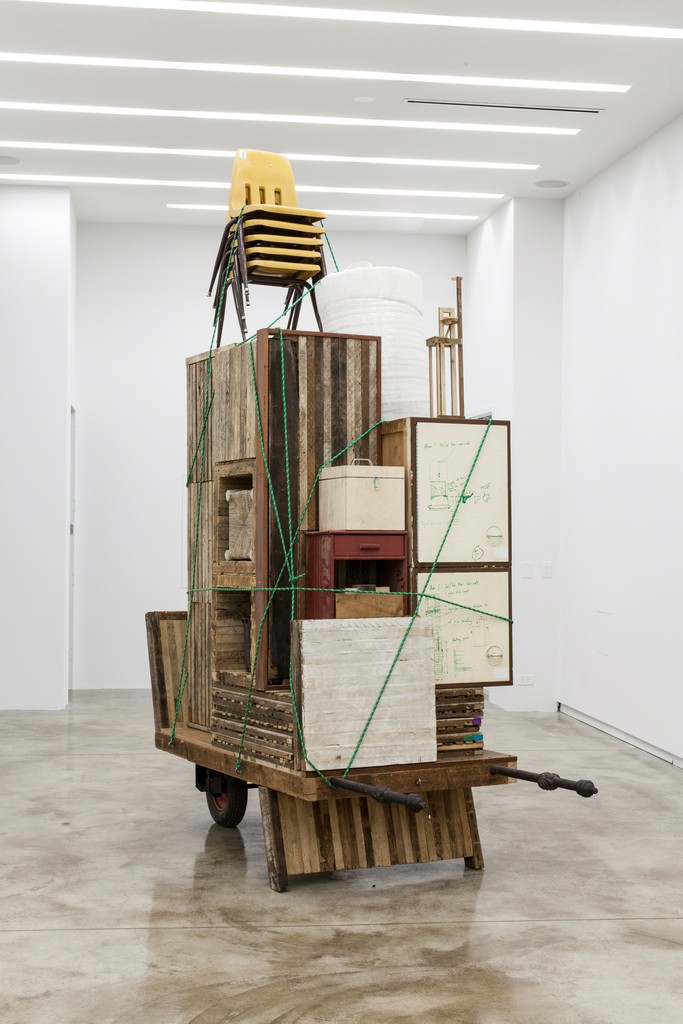 Theaster Gates, 'Migration Rickshaw for German Living,' , Kavi Gupta