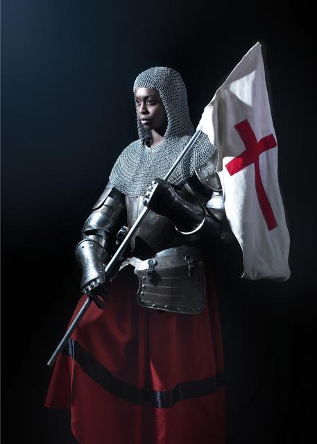 , 'Rewrite history in black - Jeanne d'Arc II,' 2016, Galerie Geraldine Banier