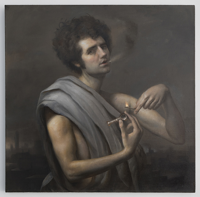 , 'Bacchus with a Pipe,' 2010, Chesterfield Gallery