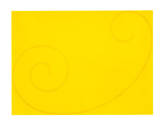 , 'Yellow Curled Figure,' 2002, Zane Bennett Contemporary Art