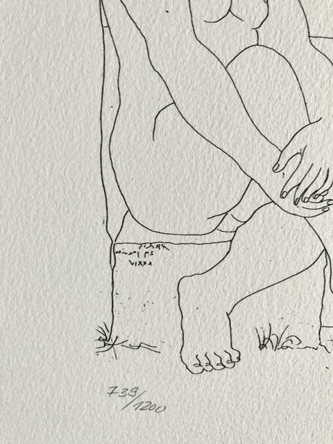 Pablo Picasso, 'Femme assise au Chapeau et Femme debout drappée (Suite Vollard Planche LXXIX)', 1973, ByNewArt