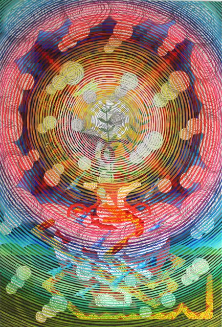 , 'Burst of Light (Serpent and Vessel),' 2018, Galerie Droste