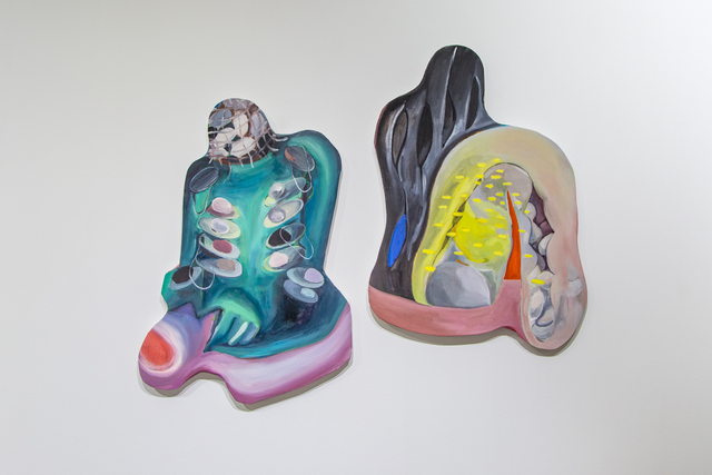 , 'Holding/Choking, Pulling Out,' 2018, DOOSAN Gallery