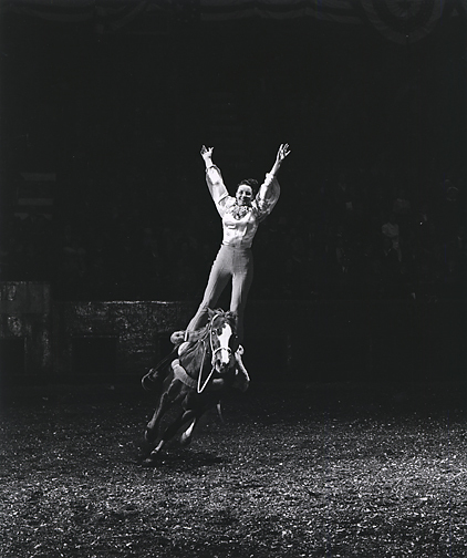 , 'A Girl and her Horse, Seeing the Unseen,' 1934 , 1965, printed 1977 by Gus Kayafas under the supervision of Harold Edgerton, Scott Nichols Gallery