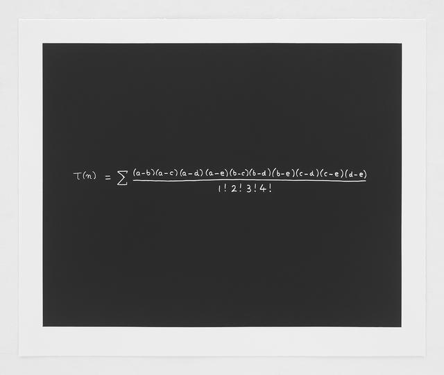 , 'Freeman Dyson,' 2014, Nancy Hoffman Gallery