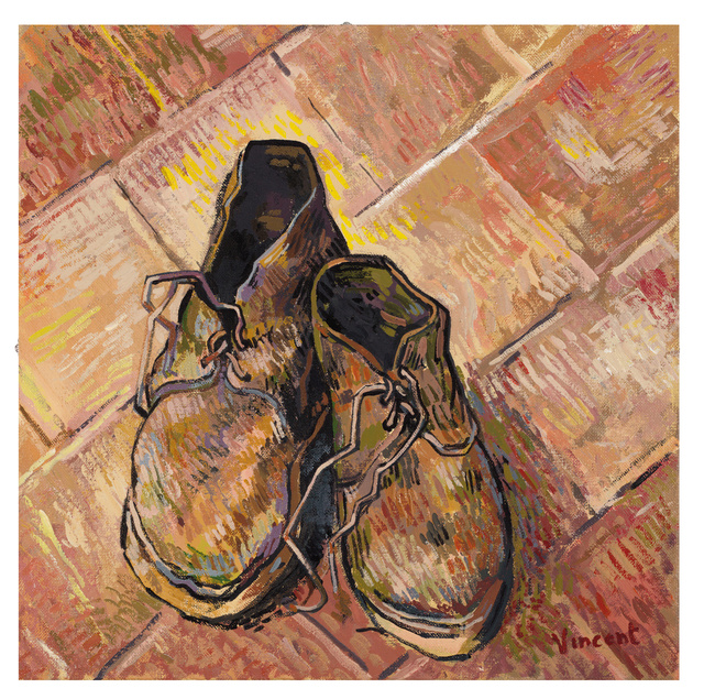 John Myatt | A Pair Of Old Shoes 1888
