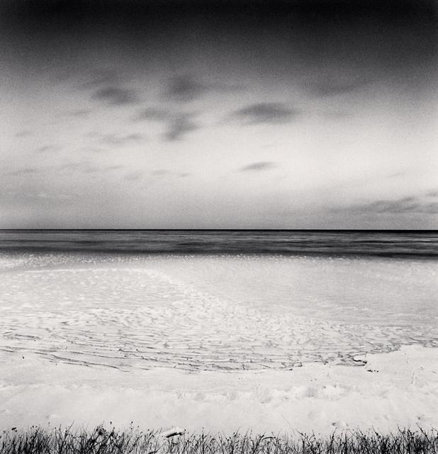 Michael Kenna, 'Frozen Sea of Okhotsk, Study 6, Oumu, Hokkaido, Japan', 2014, Photography, Toned gelatin silver print, G. Gibson Gallery