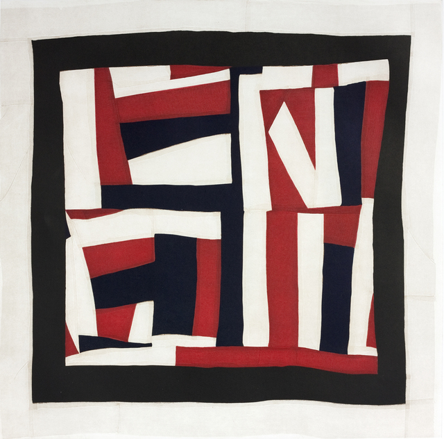Mary Lee Bendolph (Gee's Bend), 'Lonnie's Flag', 2014, Print, Color softground etching with aquatint and spitbite aquatint, Paulson Fontaine Press