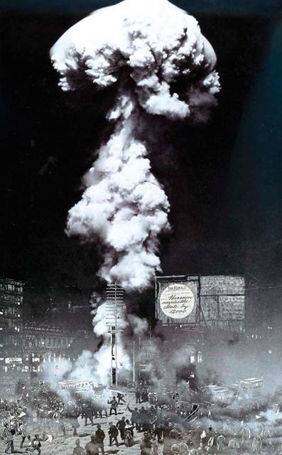 , 'Nuclear Terrasse - Nebel ,' 1988, Galerie Zwart Huis