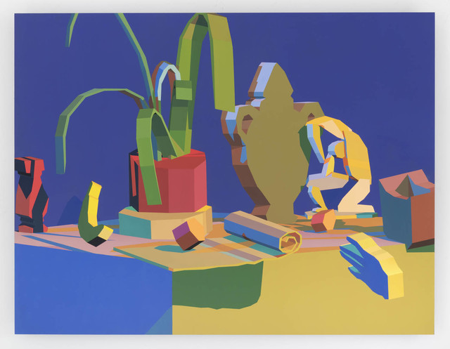 , 'Virtual Objects on flat surface ,' 2018, The Hole