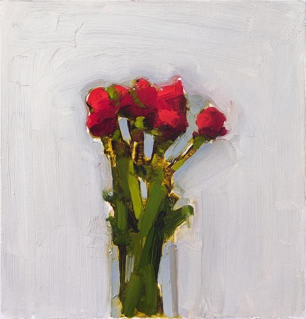 , 'Scarlet Ranunculus,' 2016, Rice Polak Gallery