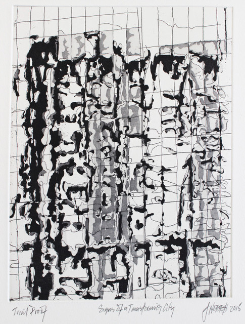 , 'Signs of a Transforming City,' 2015, David Krut Projects
