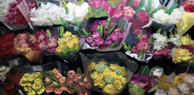 , 'Floral Aisle,' 2018, Ro2 Art