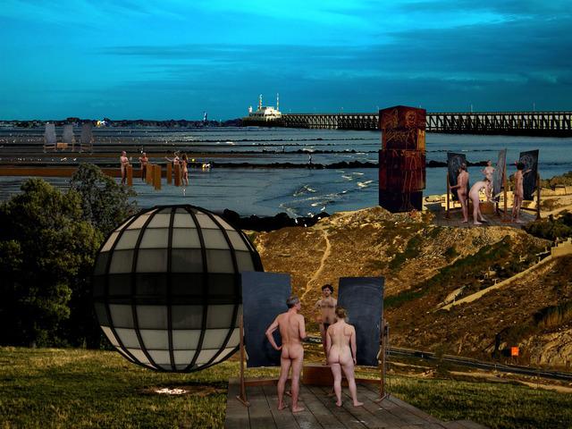 Clegg & Guttmann, 'Studiolo Landscape 6', 2007, Photography, Printed on Kodak Supra Endura paper, Plexiglas Laminated with an MDF support frame, Lia Rumma