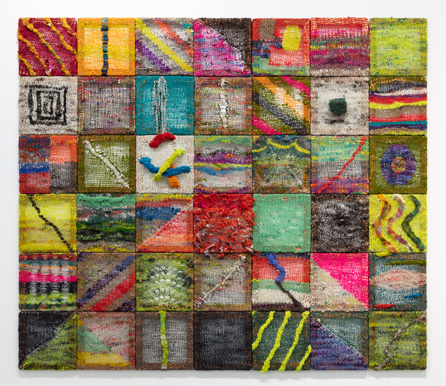 Channing Hansen, 'Taxonomies', 2019, Textile Arts, Hand spun, hand dyed wool; synthetic fibres; and redwood, Stephen Friedman Gallery