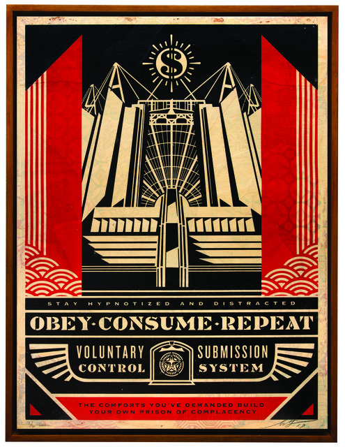 Shepard Fairey (OBEY), 'Church of Consumption', 2017, Underdogs Gallery