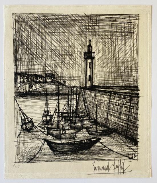 Bernard Buffet, 'Le Phare (The Lighthouse)', 1958, Denis Bloch Fine Art