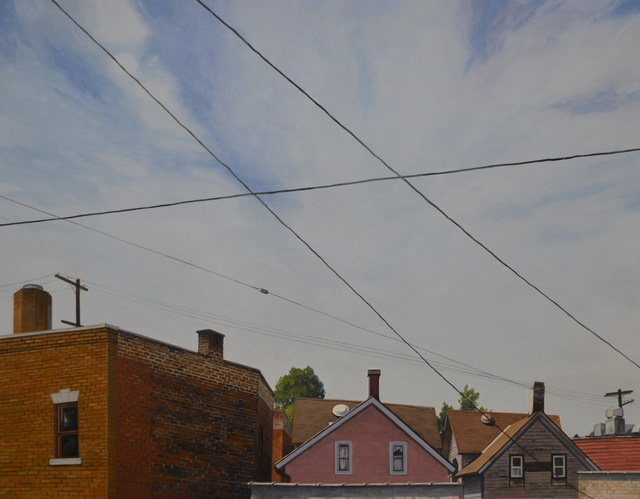 , 'Connected - Cleveland - Ohio City I,' 2016, The Bonfoey Gallery