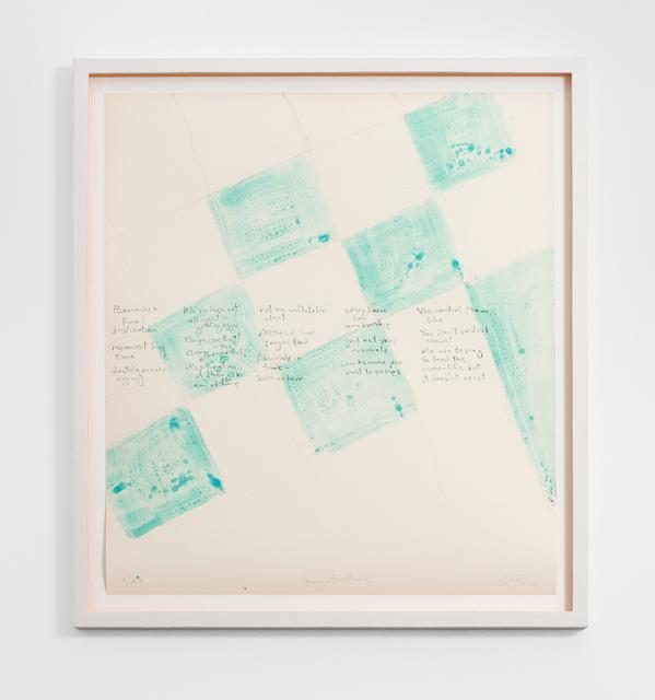 , ''negativities,' 2017, Galerie Christian Lethert