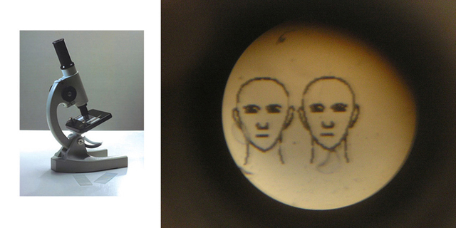 , 'Microscope - Two Portraits,' 2006, VILTIN Gallery