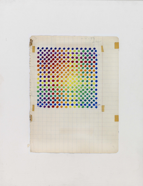 , 'Projet couleur n° 5 (Color Project n° 5),' 1959, Pérez Art Museum Miami (PAMM)