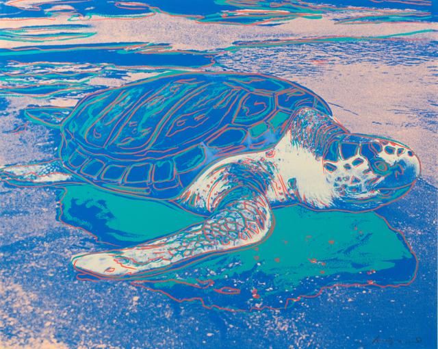 Andy Warhol, 'Turtle', 1985, Hindman