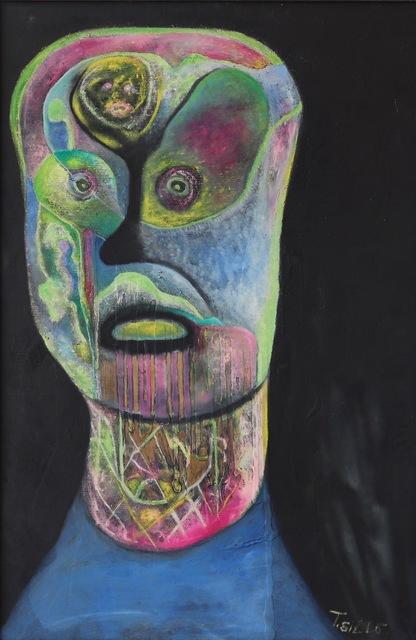 Thomas Sills, 'Blue Head', 1956, Aaron Galleries