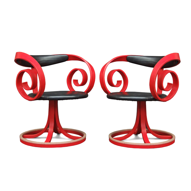 George Mulhauser, 'Pair of Sultana Chairs', 1965, Fears and Kahn