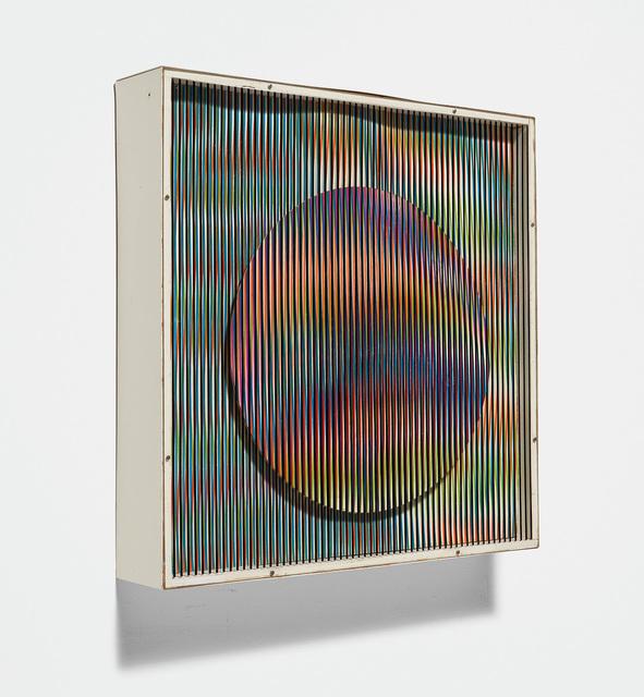 Carlos Cruz-Diez, 'ChromointerférenceMécanique', 1970, Phillips