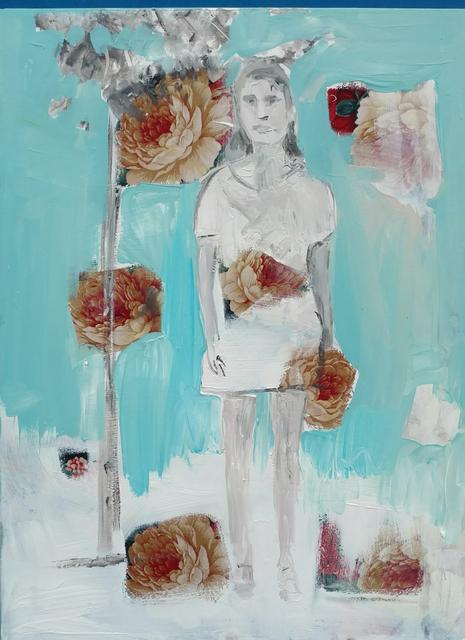 , 'Woman and Tree,' 2018, Janet Rady Fine Art