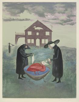 Leonora Carrington, 'Bird Bath (Baño de pájaros)', 1974, Museum of Latin American Art, Long Beach