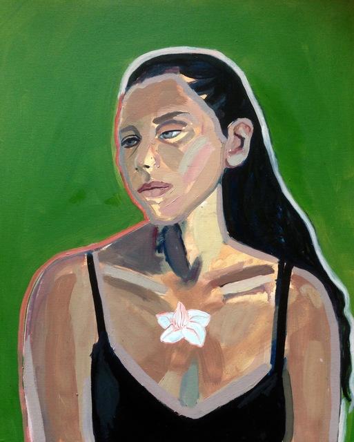 , 'White Gladiolus,' 2017, J. Cacciola Gallery