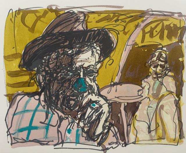 , 'Blue Nose,' 2016, Marlborough London