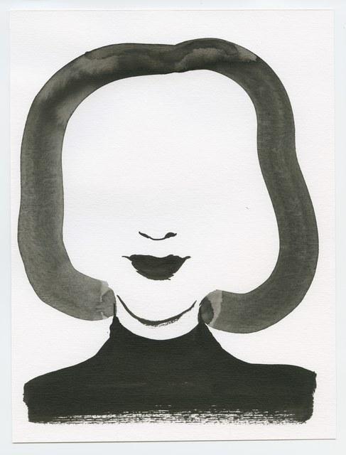 , 'Woman's Face,' , Bluerider ART