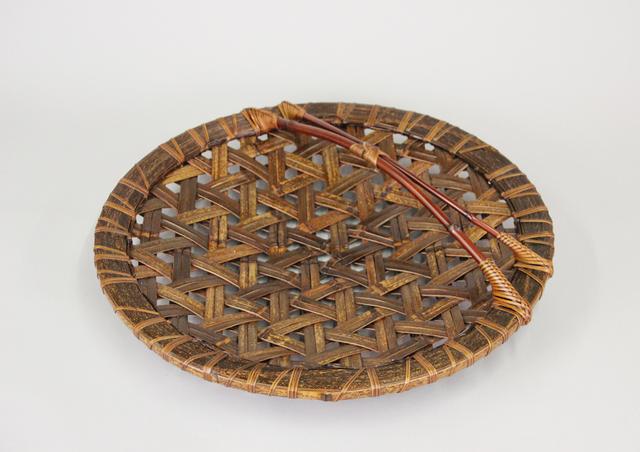 , 'Black Bamboo Tortoiseshell Flower Basket,' 2014, TAI Modern