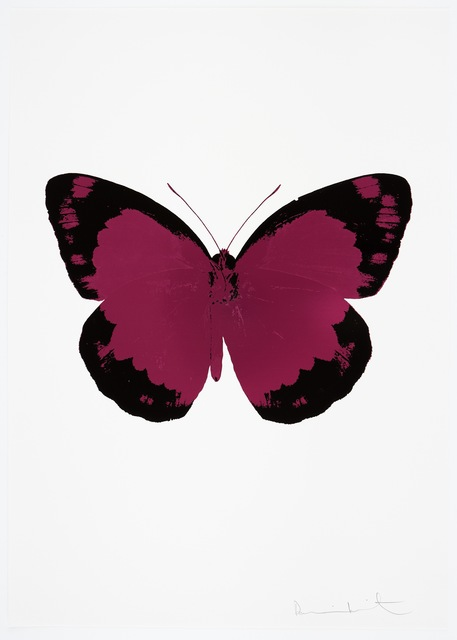 , 'The Souls II - Fuchsia Pink/Raven Black/Blind Impression,' 2010, Paul Stolper Gallery