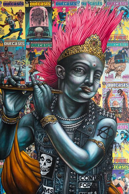 Michael LaBua, 'Outcasts (Krishna)', 2016, DETOUR Gallery