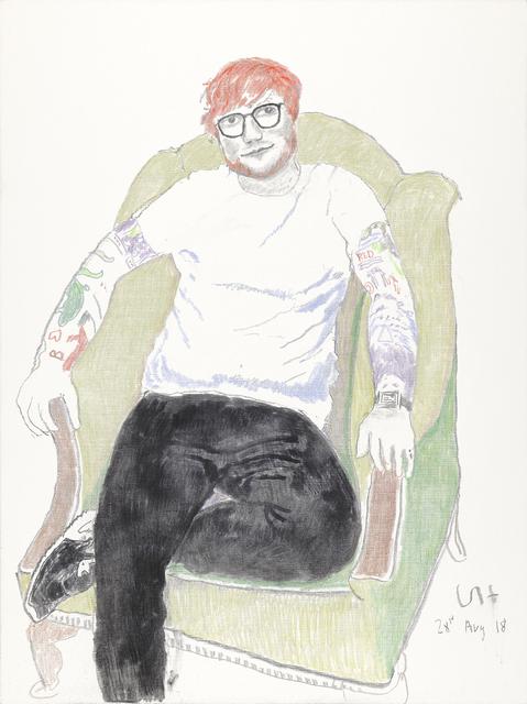 David Hockney, 'Ed Sheeran', 2018, Annely Juda Fine Art