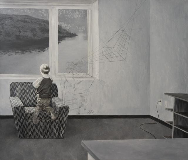 , 'Light Falling on Trees,' 2011-2015, Mind Set Art Center