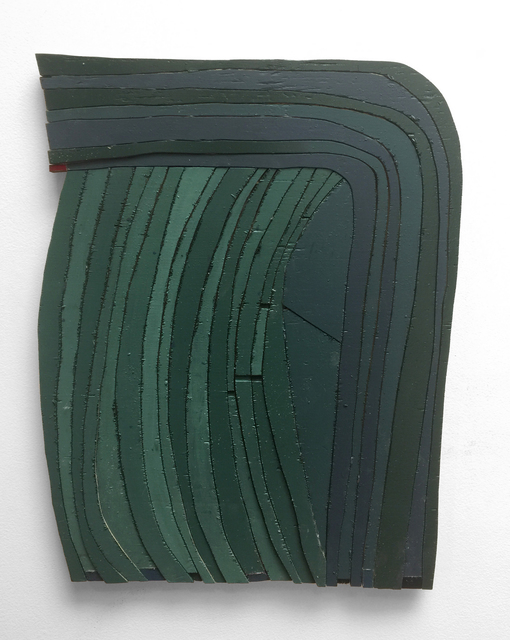 , 'Untitled (Green),' 2018, Galleri Urbane