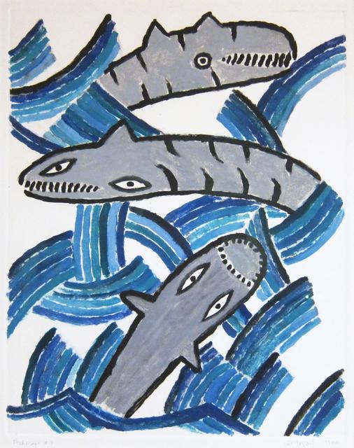 Judy Kensley McKie, 'Fishscape #3', 1988, Gallery NAGA