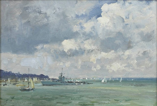 , 'Off Cowes,' , Portland Gallery