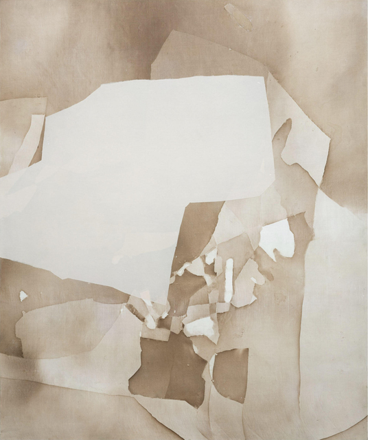 Eric Blum, 'Untitled No. 895', 2020, Painting, Ink, silk, and beeswax on panel, Kathryn Markel Fine Arts