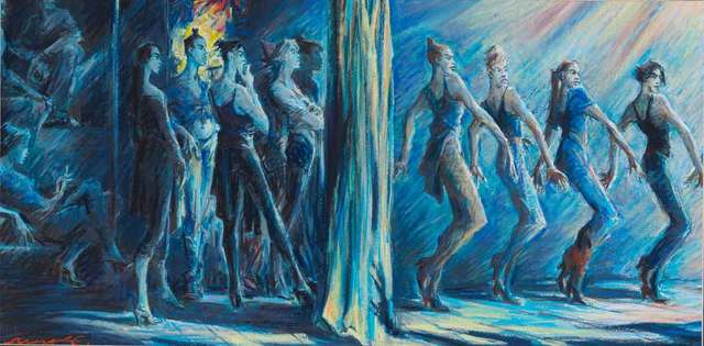 Sergei Chepik, 'Le Rideau', 2005, Catto Gallery