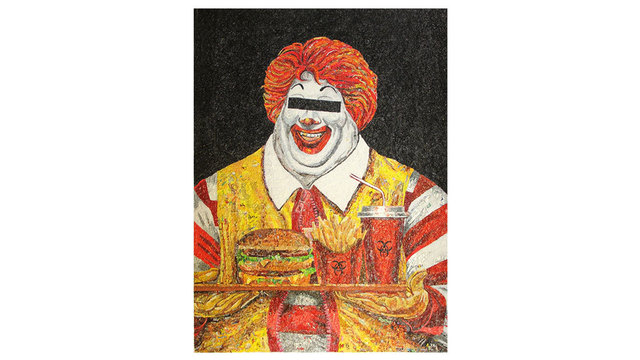 , 'McFat,' 2015, Disruptive Canvas